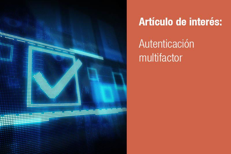 Autenticación multifactor