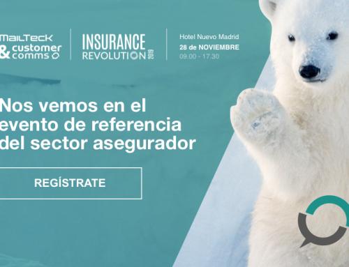 MailTecK & Customer Comms participa en la próxima edición de Insurance Revolution, que tendrá lugar el próximo 28 de noviembre en Madrid