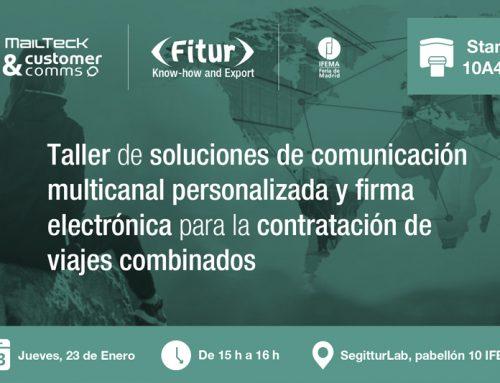 Taller de soluciones de comunicación multicanal personalizada y firma electrónica para la contratación de viajes combinados