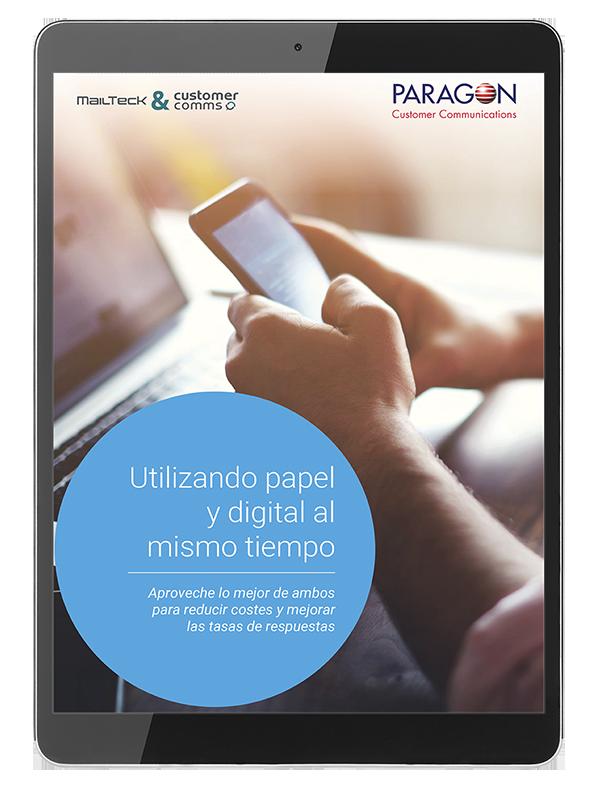 Ebook Utilizando papel y digital al mismo tiempo