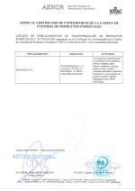 Certificado PEFC Anexo